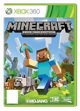 Minecraft Xbox 360 Game Boxed + Manual PAL FREE 1st CLASS POST