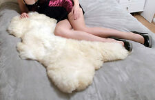 Brand new genuine Sheepskin Rug Single Double Thick Fur Large