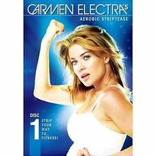Carmen Electra Aerobic Striptease Workout Dance DVD Fitness Exercise Dancing