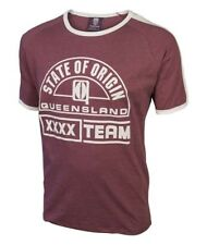 Queensland QLD State of Origin Heritage T-Shirt Tee Maroons BNWT Mens Clothing