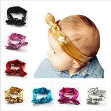 Stretch Headwear Hair Accessory Rabbit Ear Headband Headwrap Bow Hairband