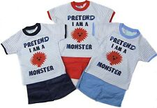 Baby Boys Toddler Kids T-shirt & Shorts Summer Outfit Set Cotton 6 to 24 Months