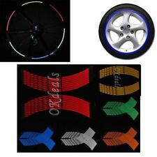 Decal Rim Motocyle Stripe Reflective Wheel Stickers Car Motorcycle Tape