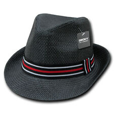 Lightweight Stylish Paper Straw Fedora Hat