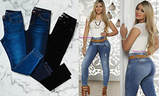 Women's Original Colombian Jeans Butt Lifter Made in Colombia Jean Levanta Cola