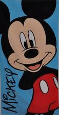 Official Disney Mickey Minnie Mouse Children's Beach Bath Towels / Poncho Towel