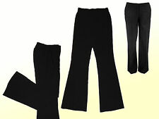 elegante Women's Trousers Stretch trousers Bootcut black Size 42 M NEU