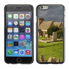 Hard Phone Case Cover Skin For Apple iPhone Old cemetery in England