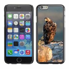 Hard Phone Case Cover Skin For Apple iPhone Angry eagle looking back