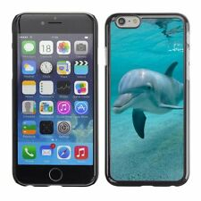 Hard Phone Case Cover Skin For Apple iPhone Kind smile of a dolphine