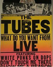 THE TUBES What Do You Want From Live LP A&M SP-6003 (1978) VG+ VINYL
