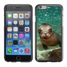 Hard Phone Case Cover Skin For Apple iPhone Charming baby sea lion