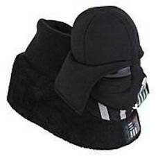 NWT-Toddler Boys Star Wars Darth Vader Black Sock Slippers-size 5/6, 7/8 & 9/10