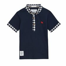 J By Jasper Conran Kids Boys' Navy Textured Polo Shirt From Debenhams