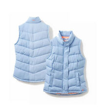Joules Womens Eastleigh Padded Gilet Haze Blue - Size 10