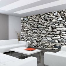 "Fleece Photo Wallpaper ""Rocky Stone Wall "" ! look W"