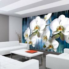 Fleece Photo Wallpaper No. 2257 ! Orchids Flowers Sheets S