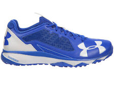NEW MENS UNDER ARMOUR DECEPTION TRAINER RUNNING SHOES TRAINERS ROYAL / WHITE