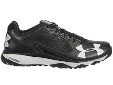 NEW MENS UNDER ARMOUR DECEPTION TRAINER RUNNING SHOES TRAINERS BLACK / BLACK
