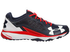 NEW MENS UNDER ARMOUR DECEPTION TRAINER RUNNING SHOES TRAINERS NAVY / RED / WHIT