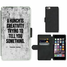 Phone Card Slot PU Leather Wallet Case For Apple iPhone 126 creativity hunch whi