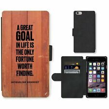 Phone Card Slot PU Leather Wallet Case For Apple iPhone 187 goal Kennedy red woo