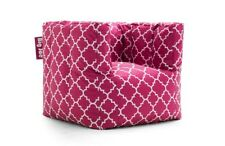 Cube Chair Bean Bag Cozy Sack Gaming Game Room Kids Comfort Compact Foam Filled