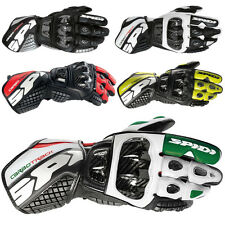 Spidi Carbo Track Mens Street Racing Riding Motorcycle Gloves