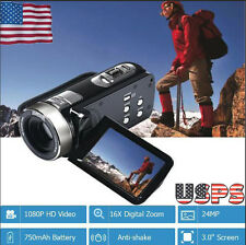 "New 2.8"" TFT LCD 16MP HD 720P Digital Video Recorder Camera 16x Digital ZOOM DV"