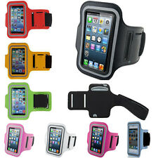 Sports Running Jogging Gym Armband For iPhone 6s 6 SE 5s 5 4S 4 & Galaxy S7 S6