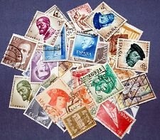60 SPANISH COMMEMORATIVES~ASSORTED~USED~IN PACKETT
