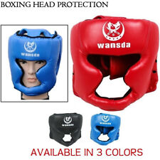 Head Guard Protector Helmet Protection Kick Boxing Martial Arts MMA Face Gear