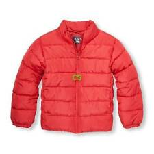 NWT $50-Boys The Childrens Place Red Puffer Winter Snow Jacket-size 7/8 & 10/12