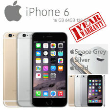 Apple iPhone 6 16gb 64gb 128gb Space Grey Silver Gold Unlocked /1 Year Warranty