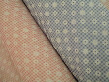 "Daisy Gingham  Poly Cotton Fabric 115cm (45"") wide  sold by the metre"
