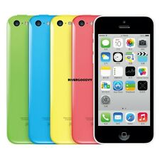 "Apple iPhone 5C-8GB 16GB 32GB GSM ""Factory Unlocked"" Smartphone Cell Phone VGY"