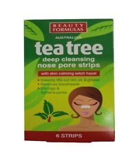 Australian Tea Tree Deep Cleansing Nose Pore Strips with Witch Hazel