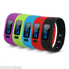 Smart Bracelet Wristband Watch Bluetooth Sleep Monitor Pedometer Sport Fitness