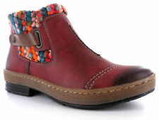 RIEKER Ankle boots Z6784-35 red combi