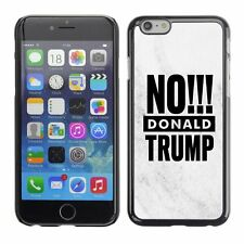 Hard Phone Case Cover Skin For Apple iPhone 107 BAN Donald Trump marble white bl