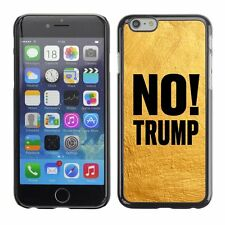 Hard Phone Case Cover Skin For Apple iPhone 174 BAN Trump yellow paint wall