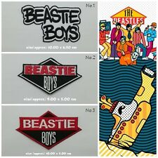 Beastie Boys Patch Sew On Iron Embroidered Music Hip Hop Group Free Shipping New