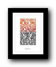❤ FRANK TURNER - Mittens ❤ song lyrics typography art poster print  #117