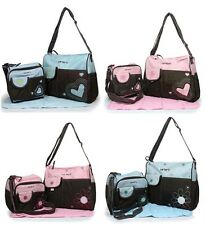 Carter's Baby Nappy Changing Bag Mom Tote Diaper Bag 4Pcs
