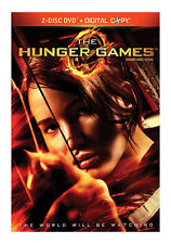 The Hunger Games (DVD, 2012, 2-Disc Set) with Slipcover Jennifer Lawrence NEW