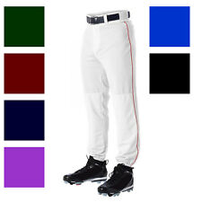 ALLESON 605PLPY YOUTH BOYS BASEBALL BRAID PIPE PANTS A