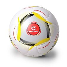 WIN.MAX Football Player Games Soccer Ball Sport Rubber Machine Stiched PU-Size 5