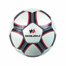 WIN.MAX Soccer Ball Games Official Football Machine Stiched Rubber PVC