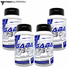 GABA 750 60-240 Caps. Gamma-Aminobutyric Acid Improves Mood & Hormone Production