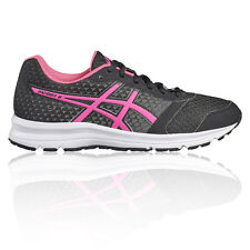 Asics Patriot 8 Womens Black Cushioned Fitness Running Shoes Trainers Pumps